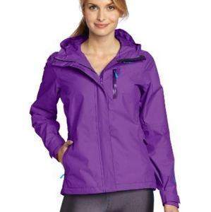 HELLY HANSEN  Purple 'Robson' Rain Jacket